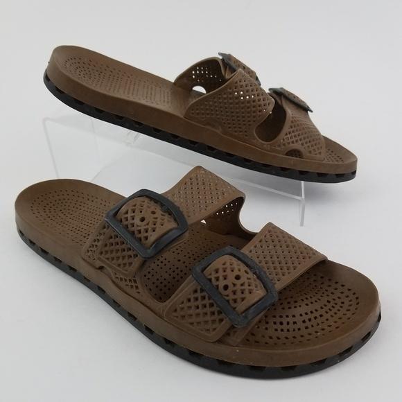 81c1562576379f Sensi Waterproof LaJolla Slide Sandals